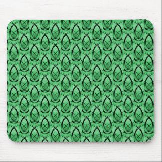 Emerald Green Fashion Forward Mousepad