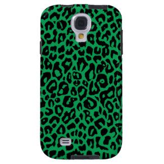 Emerald Green Leopard Animal Skins