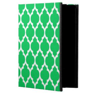 Emerald Green Moroccan Quatrefoil Pattern #4