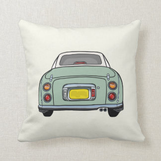 Emerald Green Nissan Figaro Pillow Cushion