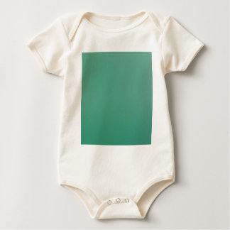 Emerald Green Plain Single Colour Product Item Baby Bodysuit
