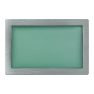 Emerald Green Plain Single Colour Product Item Belt Buckle