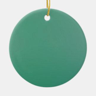 Emerald Green Plain Single Colour Product Item Ceramic Ornament