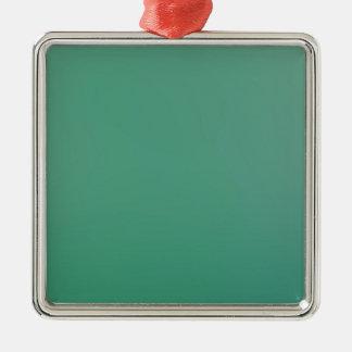Emerald Green Plain Single Colour Product Item Metal Ornament