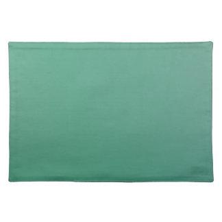 Emerald Green Plain Single Colour Product Item Placemat