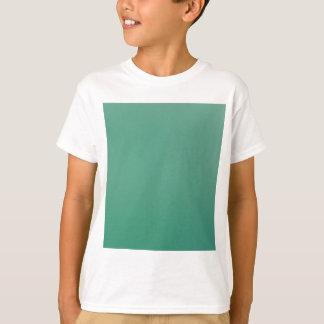 Emerald Green Plain Single Colour Product Item T-Shirt