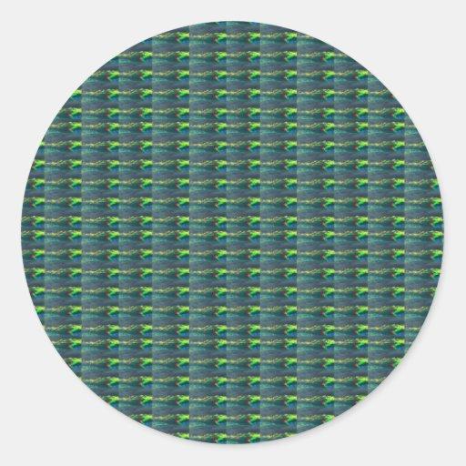 Emerald Green Sparkle NVN302 FUN DECO shades glow Sticker
