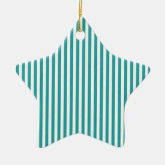 Emerald Green Striped Comtemporary Decorative Art Ceramic Ornament