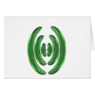 Emerald Green WAVES KISSES BANGLES COSTUME Cards