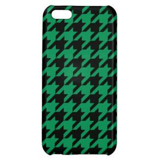 Emerald Houndstooth 2 iPhone 5C Cover