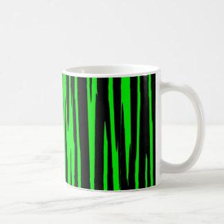 EMERALD ISLE (an abstract art design) ~ Coffee Mug