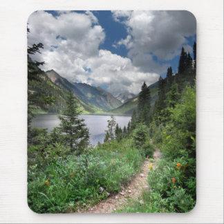 Emerald Lake 3 - Weminuche Wilderness - Colorado Mouse Pad