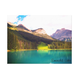 Emerald Lake, Banff, Canada Canvas Print