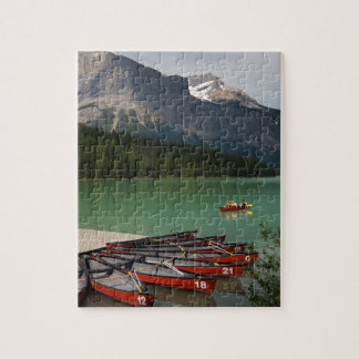 Emerald Lake, Canada Jigsaw Puzzle
