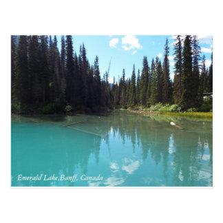 Emerald Lake Canvas Postcard
