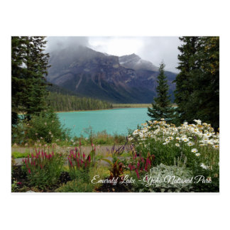 Emerald Lake Postcard