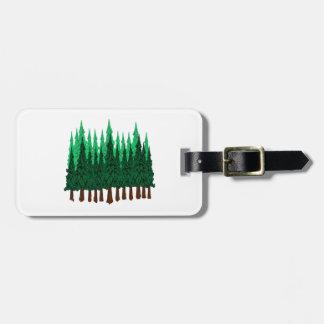 Emerald Love Luggage Tag