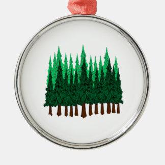 Emerald Love Metal Ornament