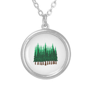 Emerald Love Silver Plated Necklace