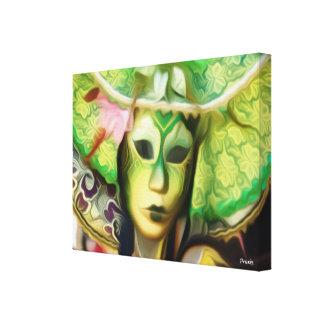 Emerald Masquerade Mask - Emerald Mask Print