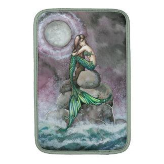 Emerald Mermaid Fantasy Art MacBook Air Sleeves