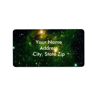 Emerald Nebula Label
