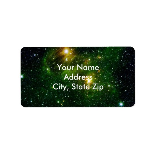 Emerald Nebula Label