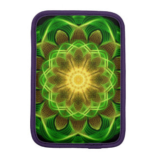 Emerald Orb Mandala Sleeve For iPad Mini