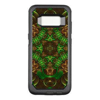 Emerald Path Mandala OtterBox Commuter Samsung Galaxy S8 Case
