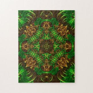 Emerald Path Mandala Puzzles