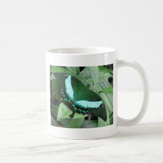 Emerald (Peacock) Swallowtail Coffee Mug