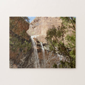 Emerald Pool Falls I from Zion National Park Puzzles