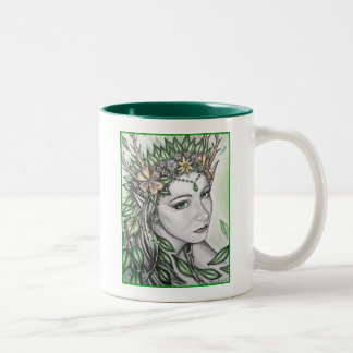 Emerald Princess Two-Tone Coffee Mug