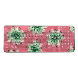 Emerald Rose Wireless Keyboard