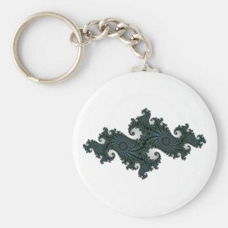 Emerald Seahorse Julia Keychain