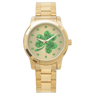 Emerald Shamrock 1 Watch