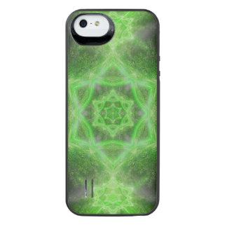 Emerald Star Mandala iPhone SE/5/5s Battery Case