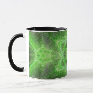 Emerald Star Mandala Mug