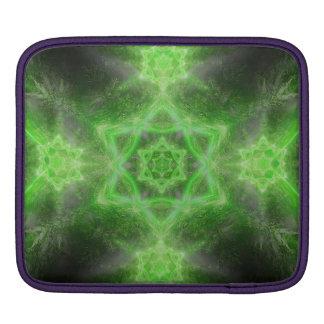 Emerald Star Mandala Sleeve For iPads
