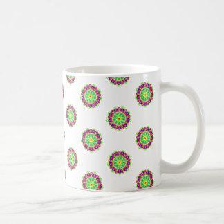 Emerald Starburst Mandala Mug