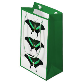 Emerald Swallowtail Butterfly Gift Bag
