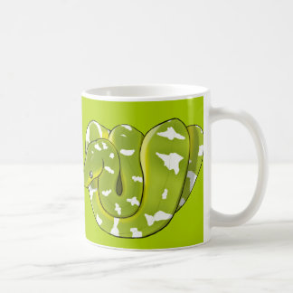 Emerald Tree Boa (updated) Green Mug