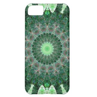 Emerald Turtle Mandala iPhone 5C Cover