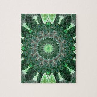 Emerald Turtle Mandala Puzzles