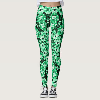 Emerald Zen Love Leggings