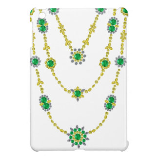 Emeralds in Chains iPad Mini Cases