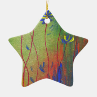 emerge ceramic star ornament