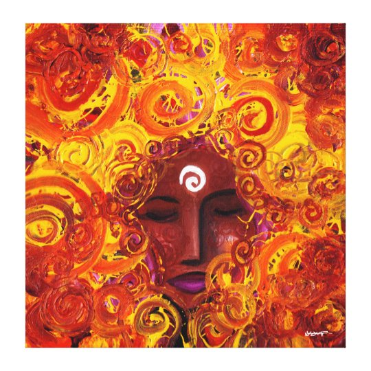 Emergence Of Spirit (Wrapped Canvas) Canvas Print