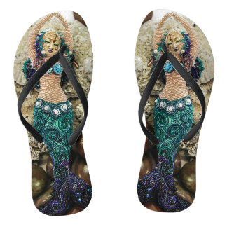 Emergence the Mermaid Flip Flops