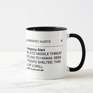 Emergency Alert mug